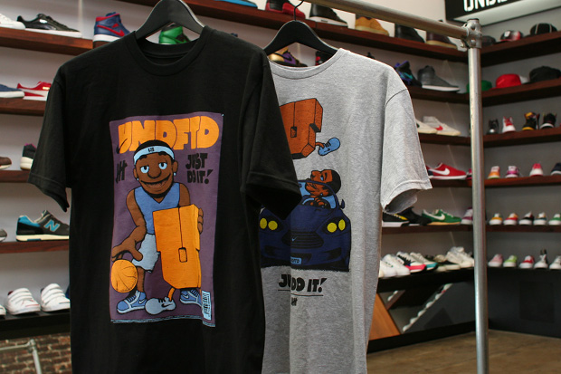 Undefeated x Nike Basketball MVPuppets T-shirt