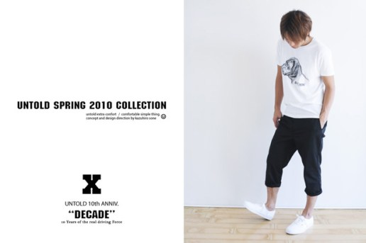 UNTOLD 2010 Spring Lookbook