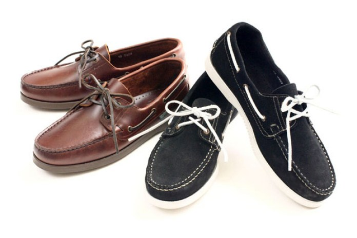 Victim x Paraboot Deck Shoes