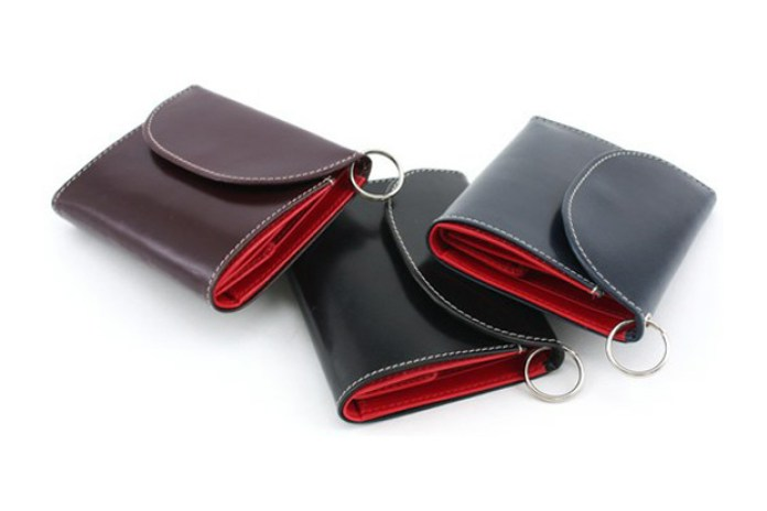 Whitehouse Cox Leather Key Chain Wallet