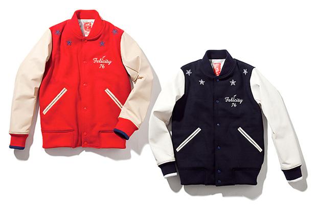 whiz Felicity Varsity Jacket