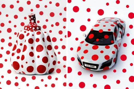 Yayoi Kusama for Audi 100th Anniversary Exhibition
