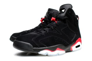 Air Jordan Retro 6 Black/Infrared