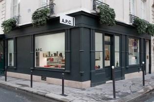 A.P.C. Paris Store Opening