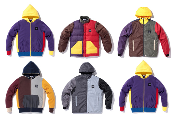 A BATHING APE 2010 Spring Collection: Crazy Color Item