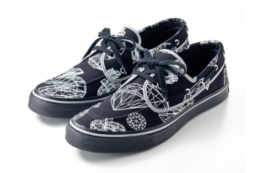 Billionaire Boys Club 3D DOLLAR & DIAMOND DECK SHOES