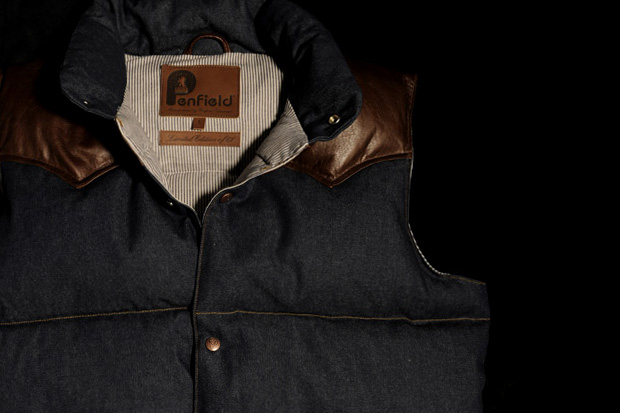 Bread & Butter Berlin x Penfield Denim Down Vest