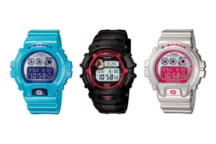 Casio G-SHOCK 2010 February New Releases