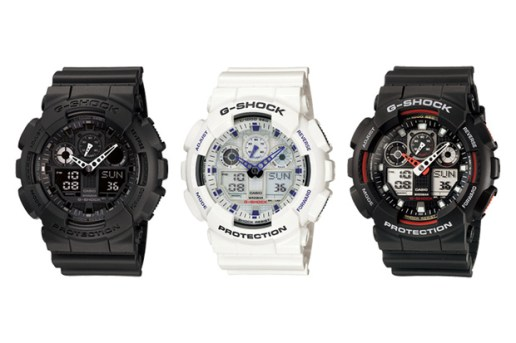 "CASIO G-SHOCK GA-100 ""Three-Eye"""