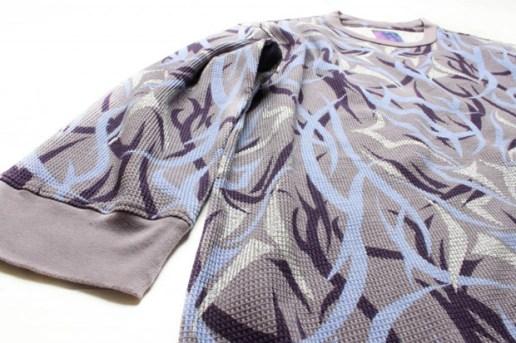 CLOT Alienegra Purple Egra Waffle shirt