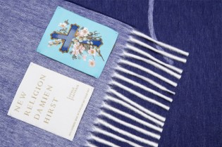 Damien Hirst New Religion Cashmere Blanket