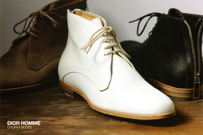 Dior Homme 2010 Spring/Summer Chukka Boot