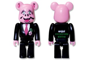 enjoi Skateboarding x Medicom Toy 100% Bearbrick
