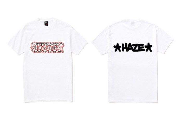 Eric Haze x Stussy Limited Edition Tee