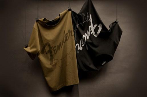 Fender x Lad Musician Logo T-Shirts