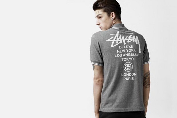 Fred Perry x Stussy Deluxe 2010 Blank Canvas Collection