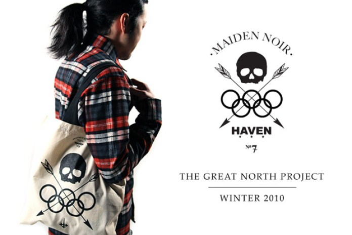 """HAVEN x Maiden Noir 2010 Winter """"The Great North"""" Collection"""