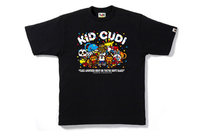 Kid Cudi x A Bathing Ape Milo Party T-shirt
