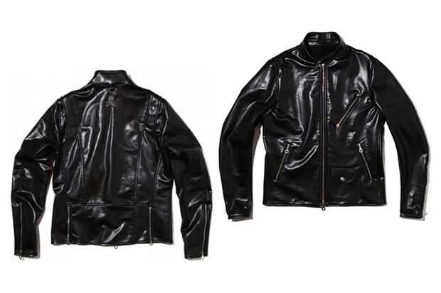 mastermind JAPAN Leather Biker Jacket