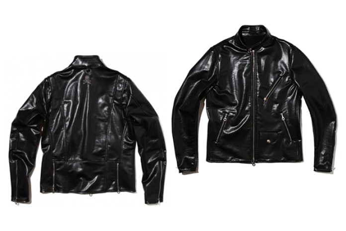 mastermind JAPAN Leather Biker Jacket