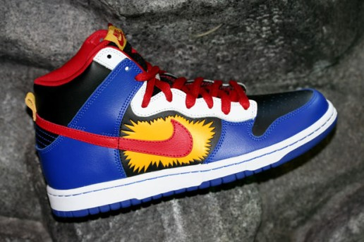 "Matt French x Nike SB Dunk High Premium ""Boom"""