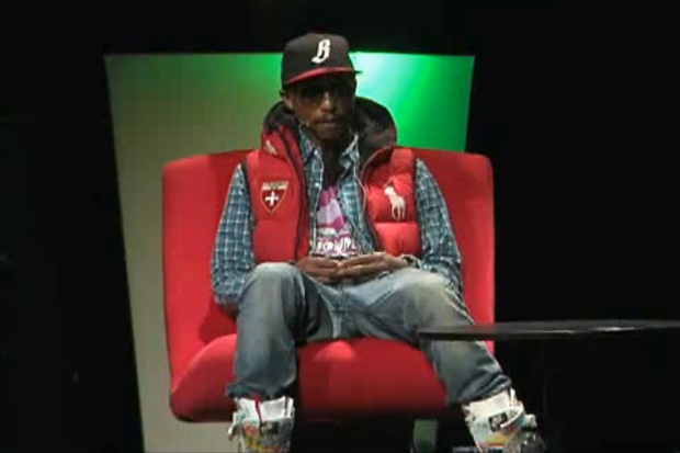 Midem: Pharrell Williams Interview
