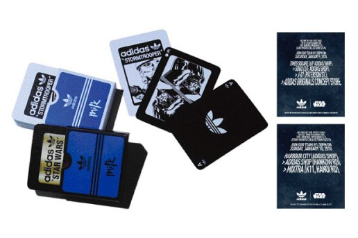 Milk Magazine x adidas Originals Star Wars Playing Cards