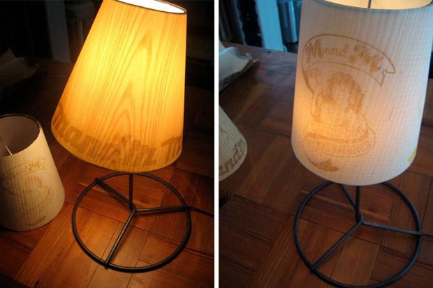 M&M Wooden Floor Lamps