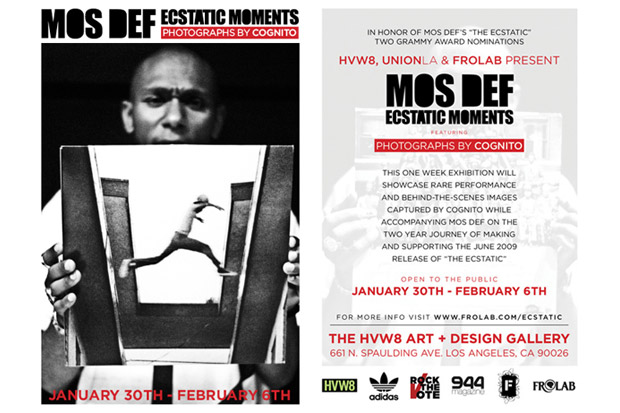 Mos Def - Ecstatic Moments Exhibition