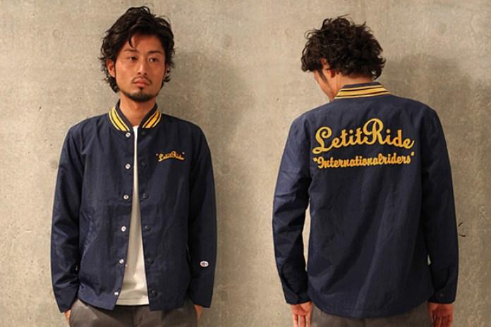 nano · universe x Champion x Let It Ride Jacket