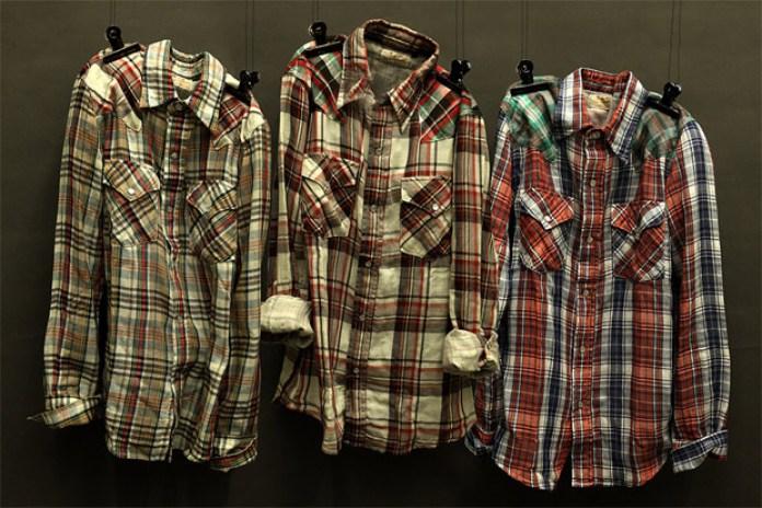 nano universe x Lee Western Shirts