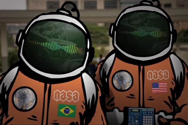 N.A.S.A. feat. Kool Kojak & DJ Babão - O Pato