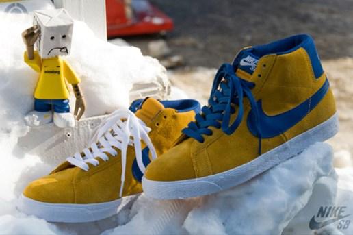 Nike Blazer SB 'Gold Leaf'