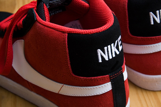 Nike SB Blazer V-Red/White/Black
