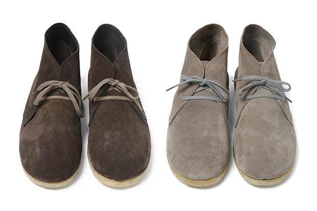 nonnative French Cow Suede Courier Boots