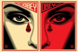 "OBEY Shepard Fairey ""Eye Alert"" Print"