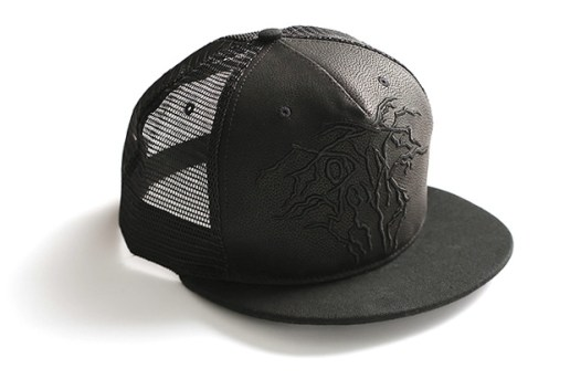 Odyn Vovk Leather Trucker Cap