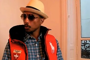 "Pharrell Williams ""Tank Chair"" Interview (Video)"