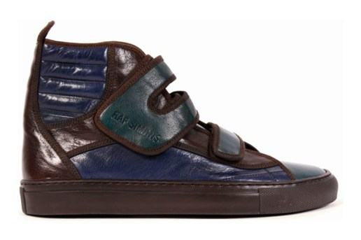 Raf Simons Leather Ankle Sneakers