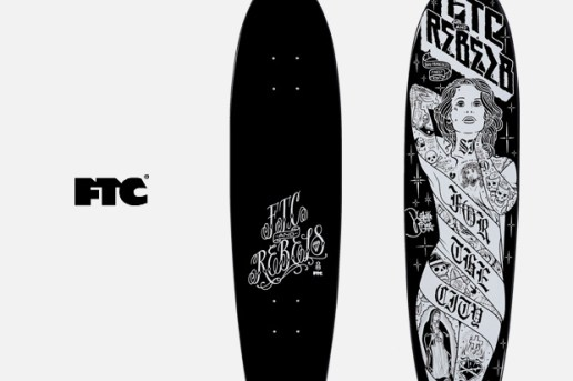 REBEL8 x FTC Skate Deck