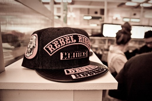 REBEL8 x Mishka Fitted Cap Preview