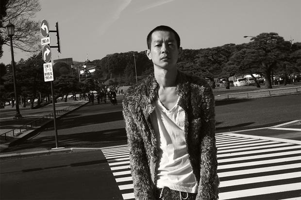 sacai Photoshoot featuring Ryo Kase