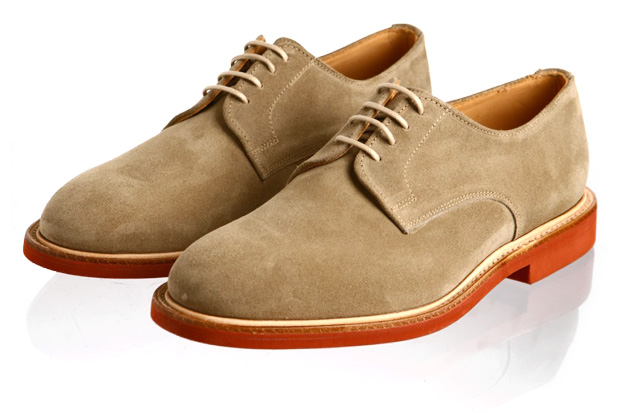 Sanders Suede Derby Shoes