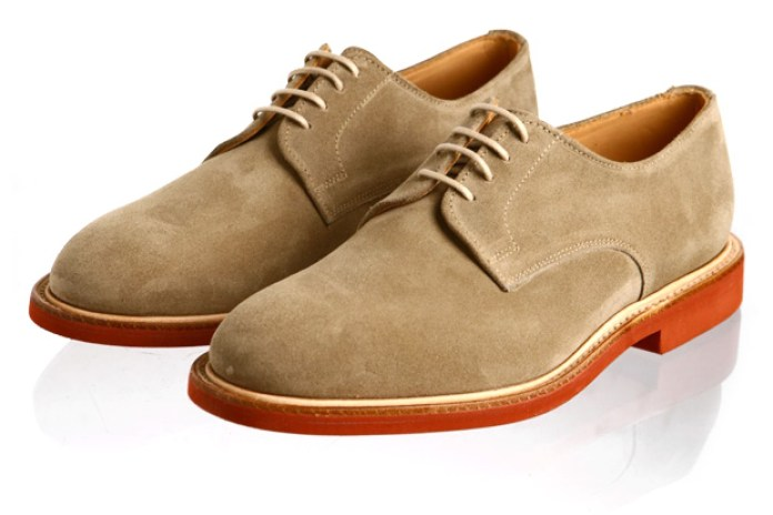 Sanders Suede Derby Shoes