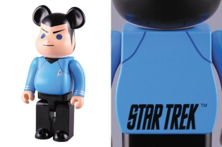 "Star Trek x Medicom Toy ""Spock"" 400% & 1000% Bearbricks"