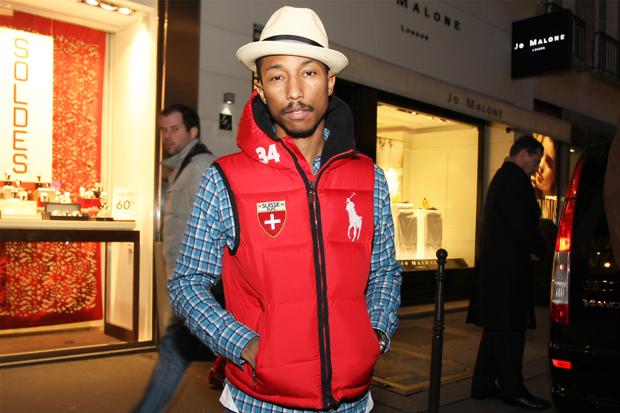 Streetsnaps: Pharrell Williams at colette