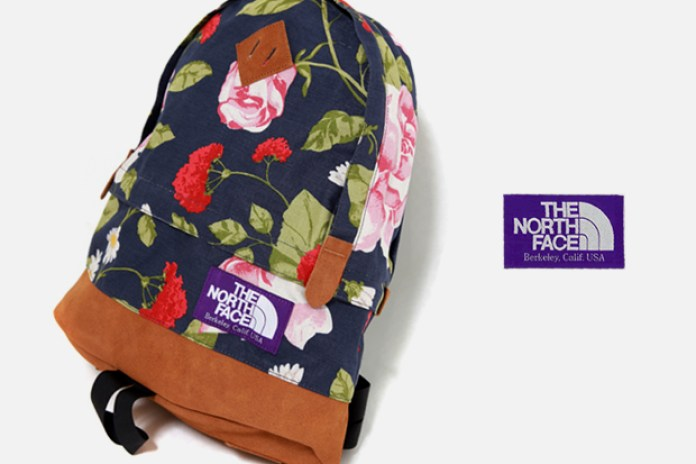 """The North Face Purple Label 2010 Spring """"Flower"""" Backpack"""
