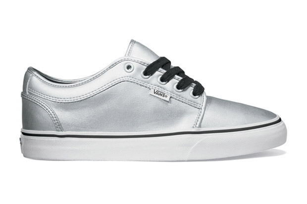 Vans Metallic Silver Chukka Low