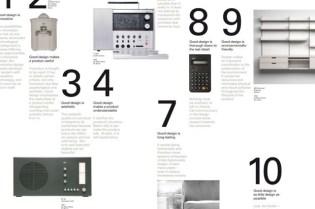 "Vitsoe x Dieter Rams ""10 Principles For Good Design"" Poster"