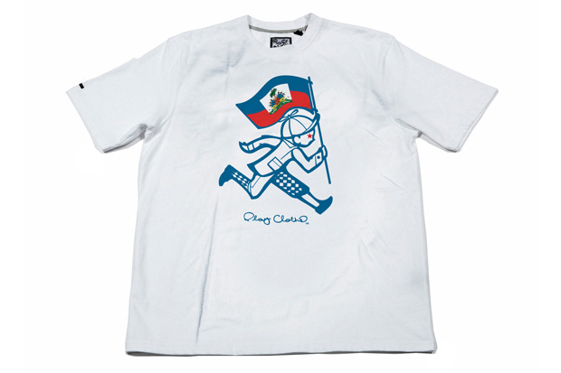 "Wyclef Jean x Play Cloths ""Haiti Relief Effort"" Tee"
